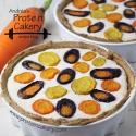 Rainbow Carrot Protein Ricotta Tarte
