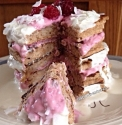 Raspberry and Lemonade Cream Pancakes