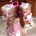 Raspberry and Lemonade Cream Pancakes