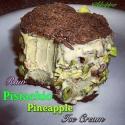 Raw Pineapple Pistachio Ice Cream Sandwich