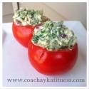 Raw Stuffed Tomatoes