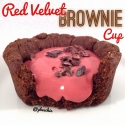 Red Velvet Brownie Cup