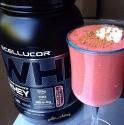 Red Velvet Protein Milkshake