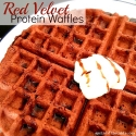 Red Velvet Protein Waffles