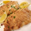 Ritz Cracker Crusted Tilapia