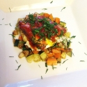 Sardines & Eggs W/ a Veggie Hash