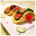Cauliflower Chive Taco Shells (Paleo, and Flour Free)