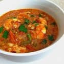 Shrimp In a Fiery Red Pepper Sauce