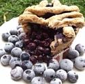 Single Serve Blueberry Pie Mugcake