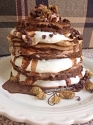 S'Mores Inspired Pancakes