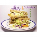 Sole & Coleslaw Sandwich