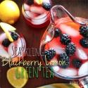 Sparkling Blackberry Lemon Green Tea