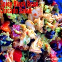 Spicy Black Bean Chicado Salad