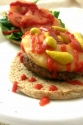 Spicy Pineapple Turkey Burger