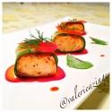 Spicy Salmon Cucumber Rolls
