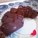 Strawberry Chocolate Protein Cake