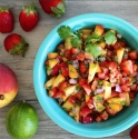 Strawberry Peach Salsa