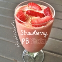 Strawberry Peanut Butter Smoothie