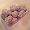 Strawberry Protein Balls