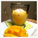 Sweet Mango-Potato Lassi
