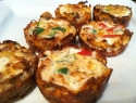 Sweet Potato Cup Mini Quiche
