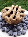 Ten Minute Blueberry Pie Mugcake