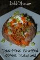 Tex Mex Stuffed Sweet Potatoes