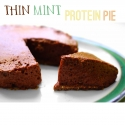 Thin Mint Protein Pie