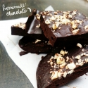 Three Ingredient Dark Chocolate