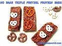 Triple Pretzel No Bake Protein Bars