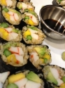 Tropical Brown Rice Sushi