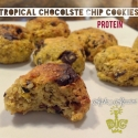 Tropical Protein Chocolate Chip Cookies
