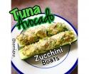 Tuna Avocado Zucchini Boats