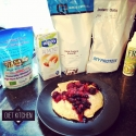 Vanilla and Coconut Protein Pancakes