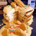 Vanilla Birthday Cake Protein Pancakes