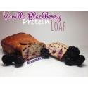 Vanilla Blackberry Protein Loaf