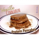 Vanilla Cinnabon Protein Pancakes