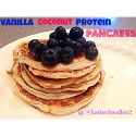Vanilla Coconut Protein Pancakes