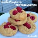 Vanilla Raspberry Protein Muffins