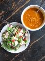 Warm Gazpacho Soup