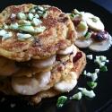 Zucchini & Cran Corn Cakes