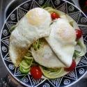 Zucchini Noodles & Eggs